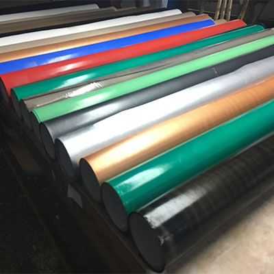PTFE coated fiberglass colorful fabric