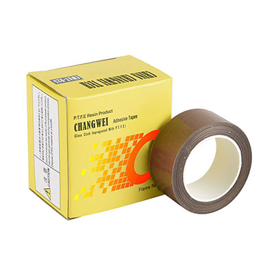 PTFE coated fiberglass wide adhesive tape