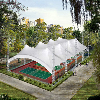 PTFE Architecture Membrane For Basketball Court